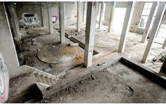 Papierfabriek De Naeyer: vervallen constructies