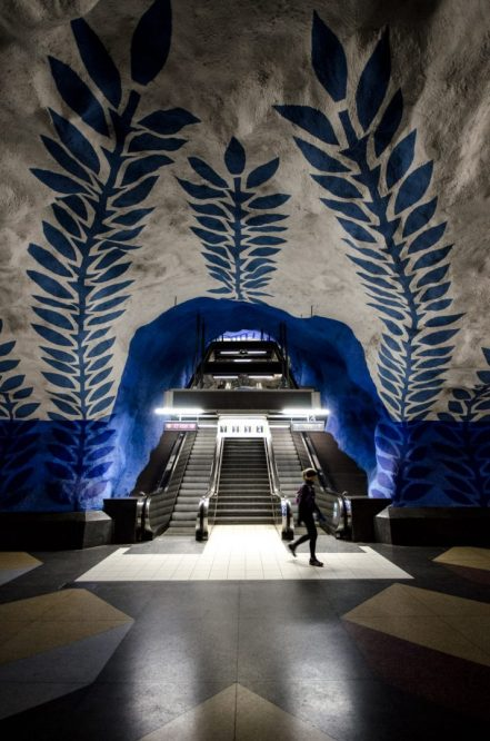 Subway station - Stockholm, Sweden