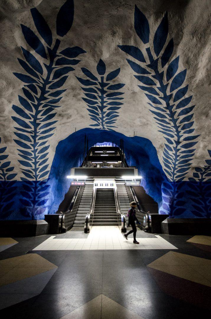 Subway station - Stockholm, Sweden