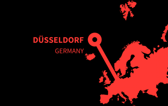 Must visit and important Instagram hashtags for Düsseldorf in Germany