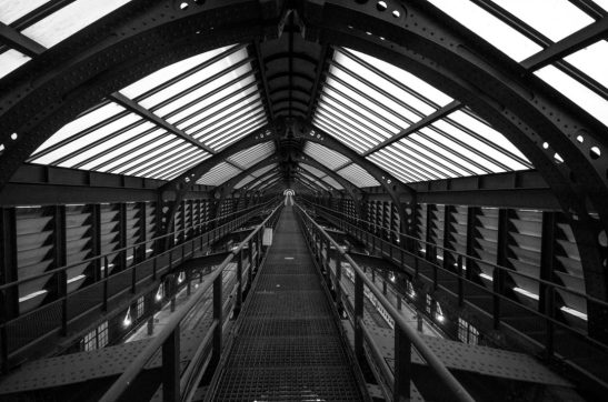 Long walkway - Antwerp Central Station