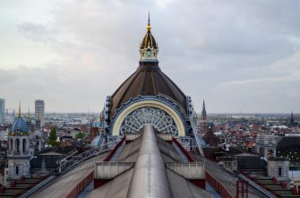 The rooftop - Antwerp Central Station