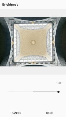3. Brightness on Instagram +100