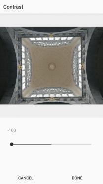 6. Contrast on Instagram -100