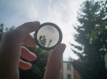 Polarisation filter for smartphones