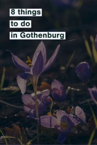 8 things to do in Gothenburg