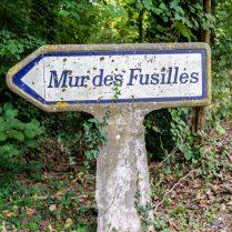 Mur de fusilles in Arras