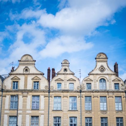 Old houses of Arras