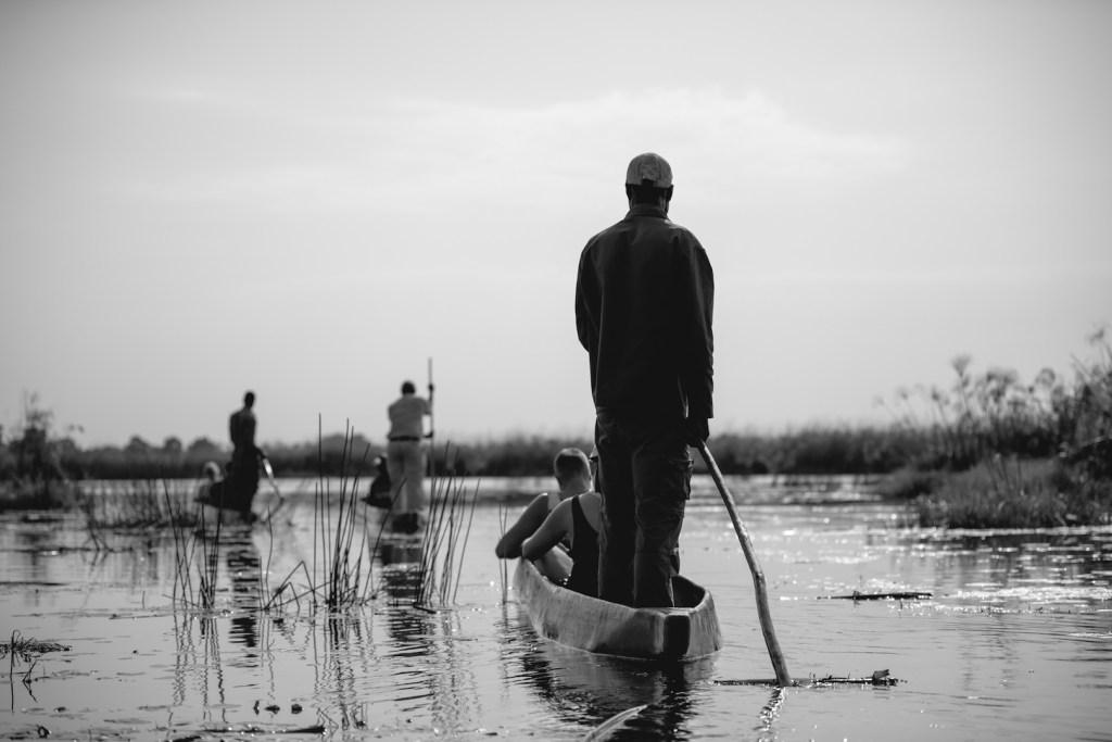 Mokoro in Okavango Delta