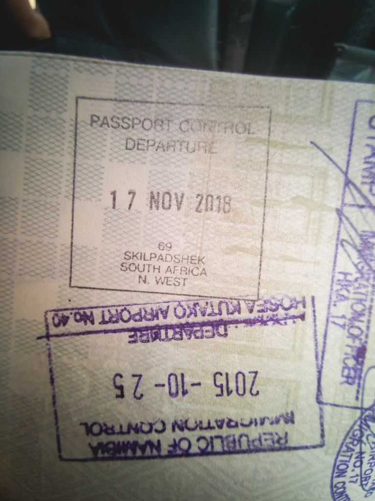 Skildpadshek passport check