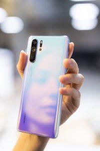 Huawei P30 pro close up