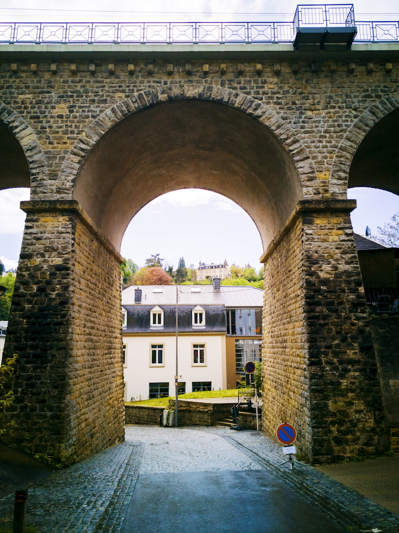 Pont in Luxembourg
