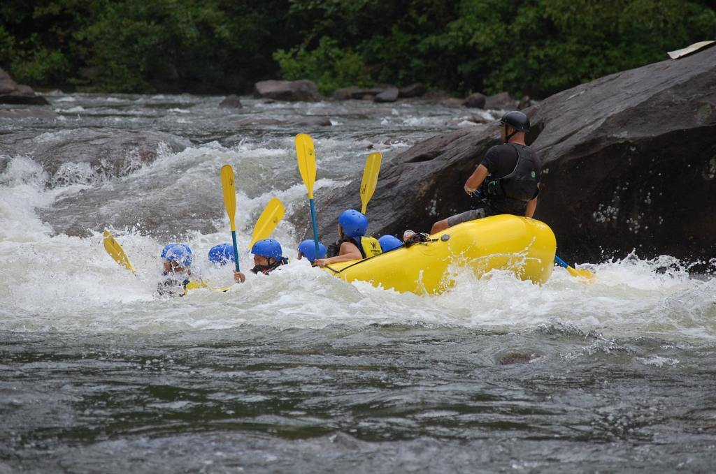 White Water Rafting by Cynthia Andres via Unsplash