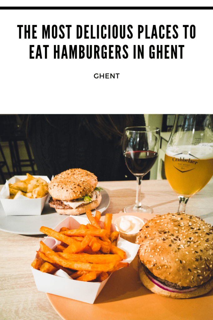 places to eat hamburgers in Ghent