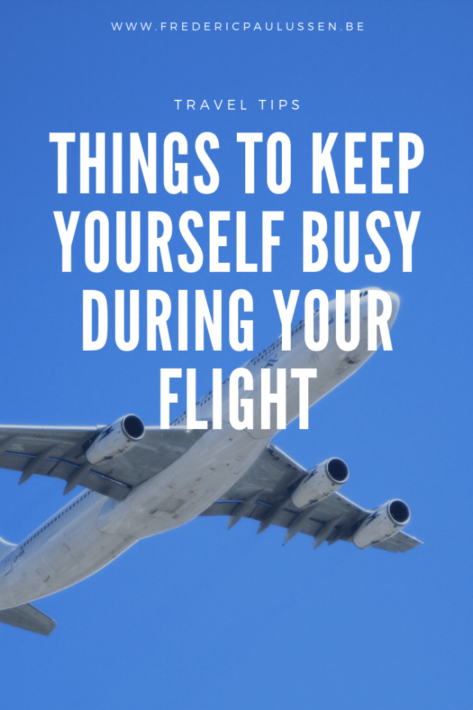 7 simple things to keep yourself busy during your flight