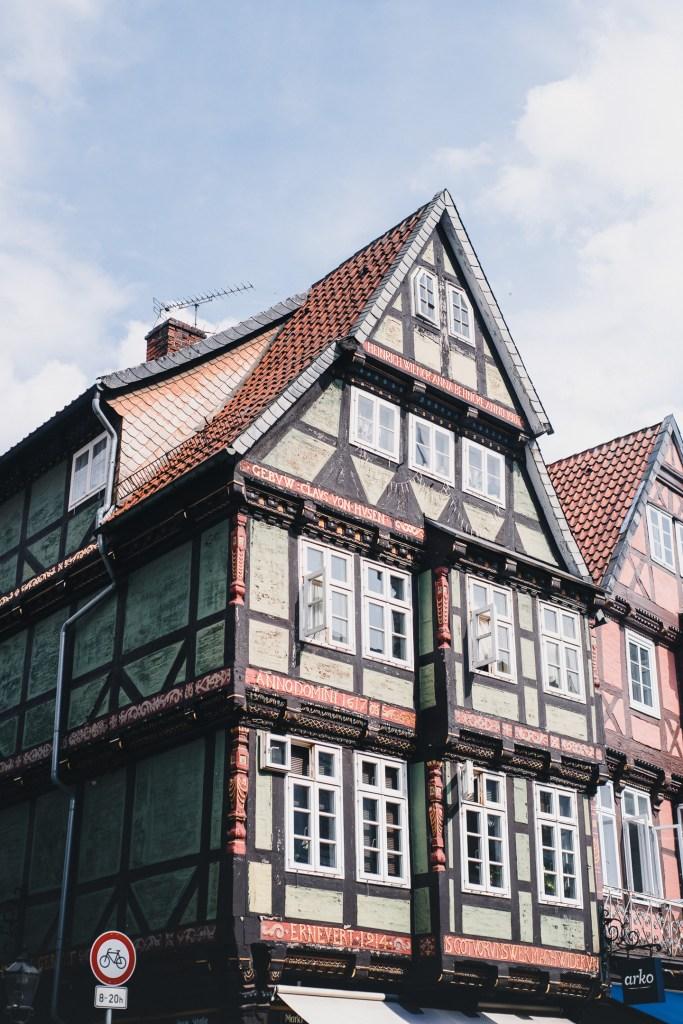 celle timber frame house