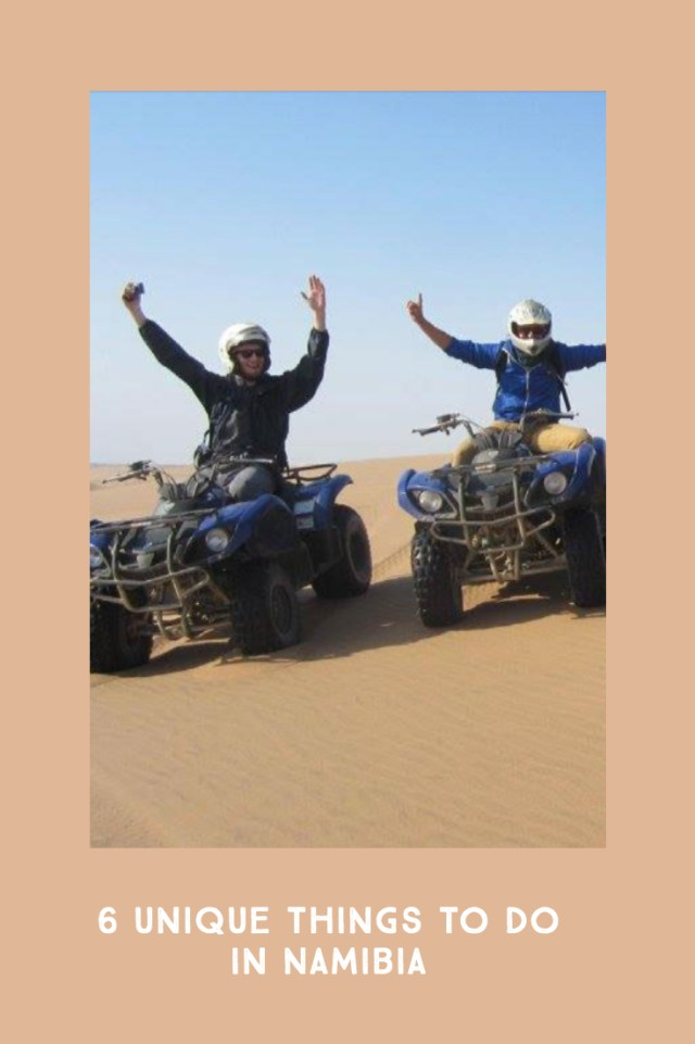 6 things to experience in Namibia