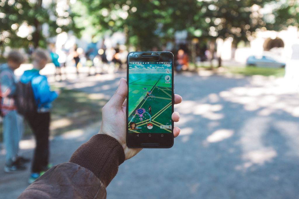 Pokemon Go as a traveling tool