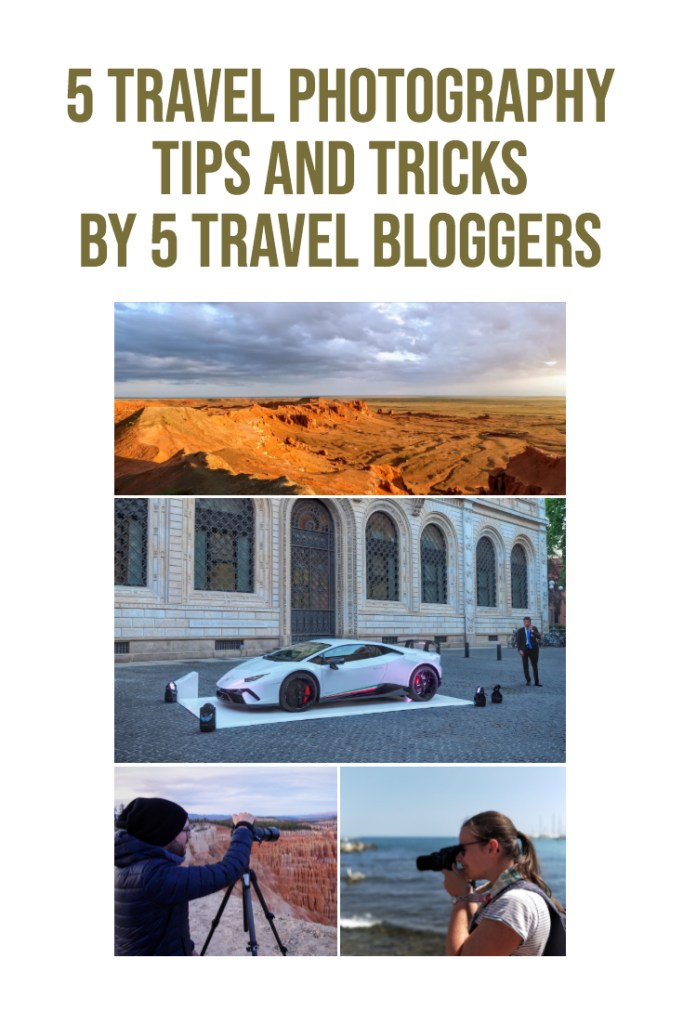 photography tips and tricks by 5 travel bloggers