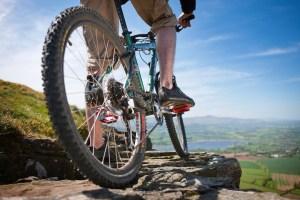 Mountainbiking along the Cambrian Way