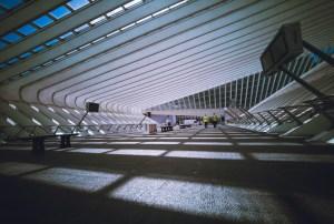 Trainstation Liege Guillemins