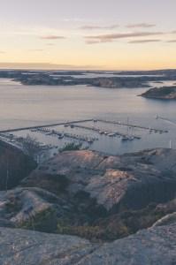 View in Fjällbacka sweden