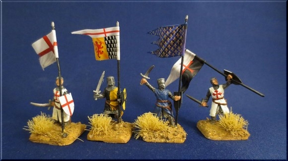 1 72 medieval flags