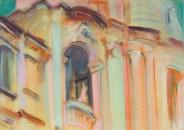 St Agnese Roma 2011, mixed media 86x62