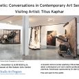 Kinetic: Conversations in Contemporary Art Series with Titus Kaphar Friday, November 6, 6:00-8:30 p.m. AU Museum A dynamic lecture series sparking critical dialogue about contemporary art and creative professional practices. […]