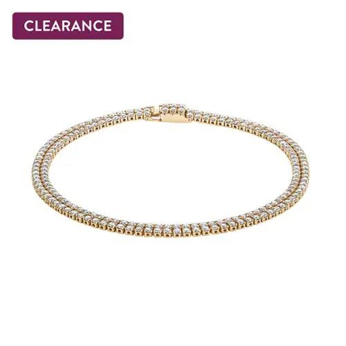 5cc30fcfc21 Diamond 7″ Tennis Bracelet in 14K Yellow Gold – $3,999.00