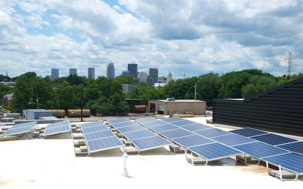 Copper & Kings will be using solar power to supplement their energy.