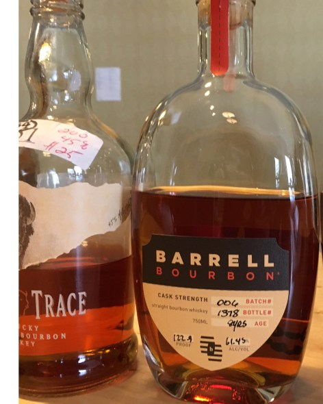 Barrell Bourbon was second in the voting for Best Small Batch Bourbon. It was my pick for second best in all of bourbon, too.