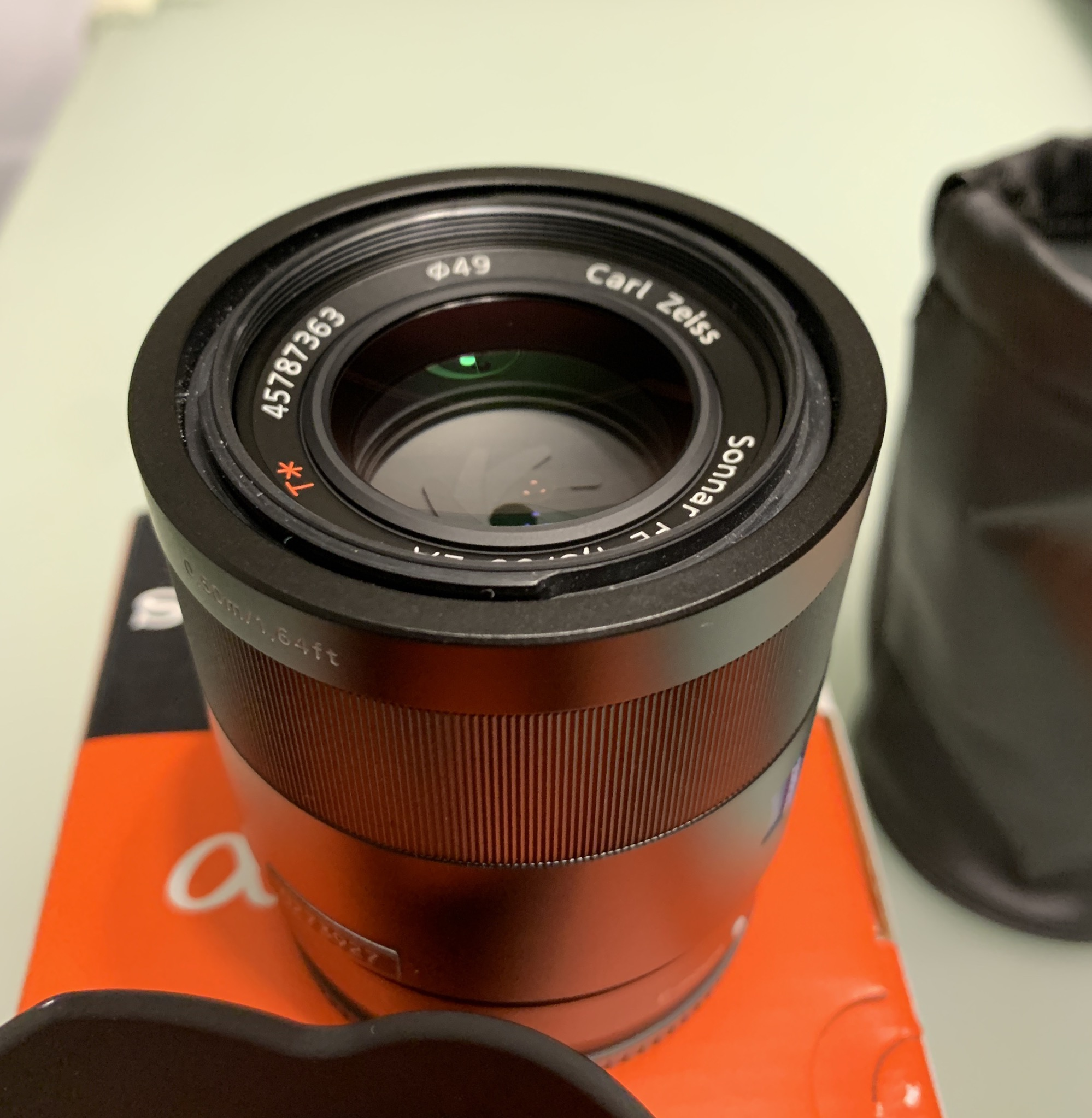 Sold: Sony FE 55mm F1.8 Zeiss - FM Forums