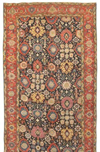 Antique Karabagh Carpet, Antique Khorossan Carpet, Sarouk Rug