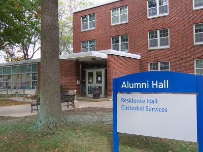 SUNY fredonia alumni hall