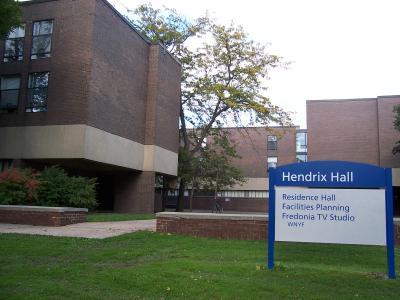 SUNY fredonia hendrix hall