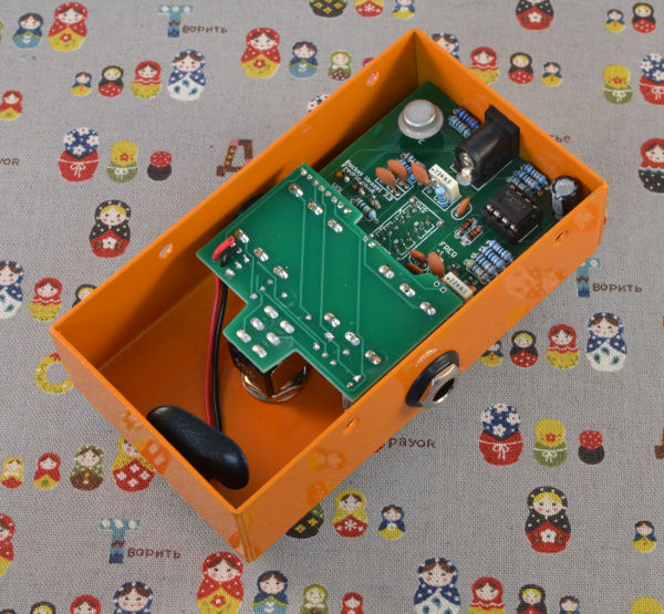 Stereo Vu Booster Circuit Using Transistors