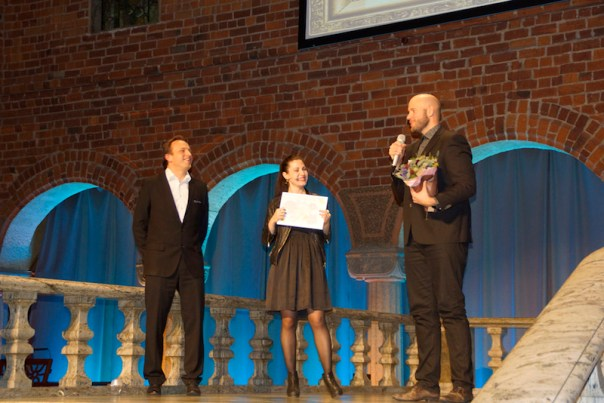 Prisutdelning Blå Hallen PR Influencer Award