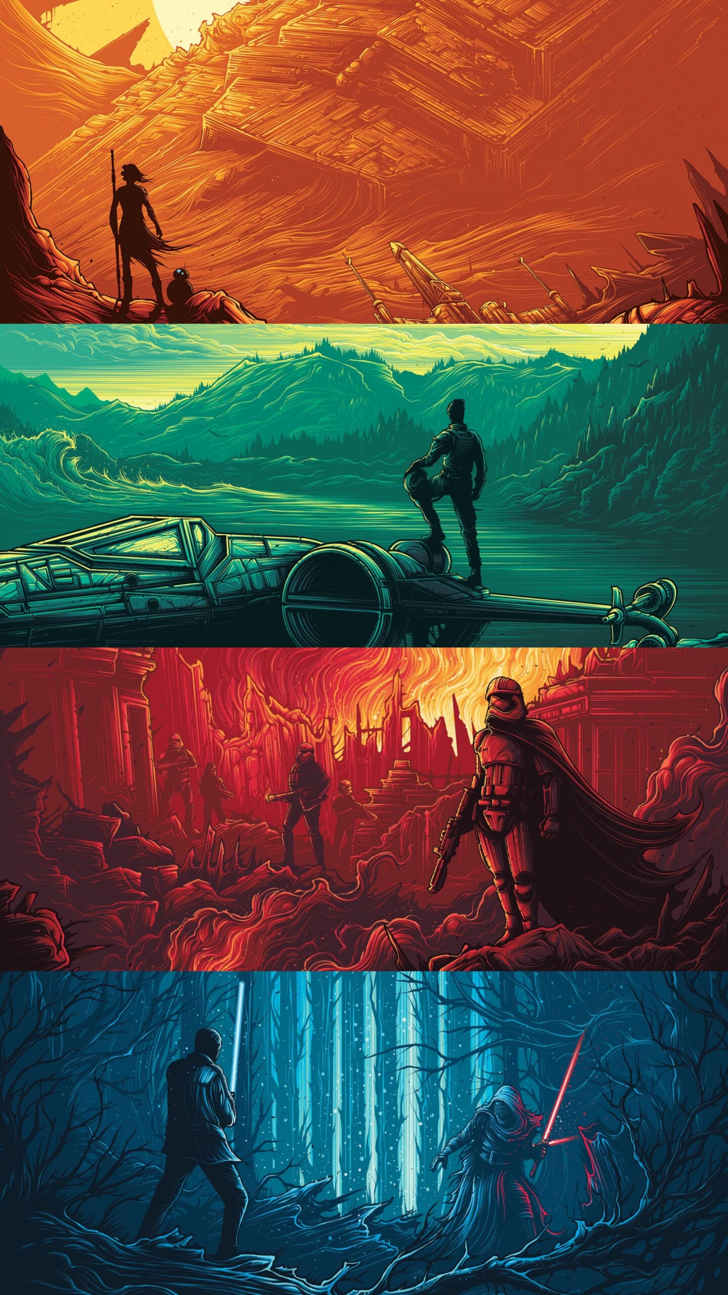 Star Wars Wallpapers For Iphone And Android Fred S Corner