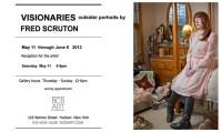 Visionaries: Portraits of Outsider Artists at BCB Gallery in Hudson NY