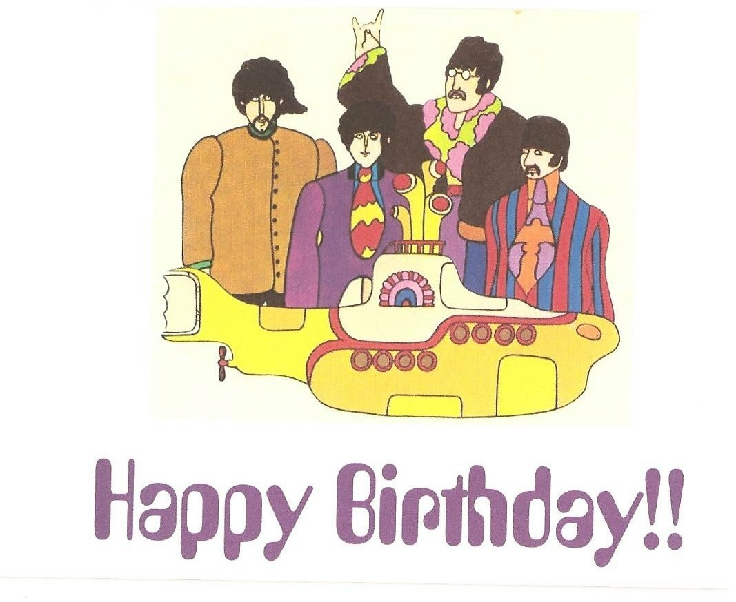 Image result for beatles birthday images