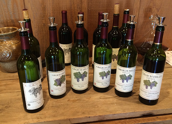 Vertical Tasting: Grgich-Hills Cabernet Sauvignon Yountville Selection