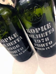 Kopke Porto Colheita at the Porto - Douro COC tasting
