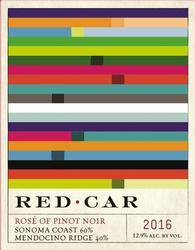 2016 Red Car Rosé wines