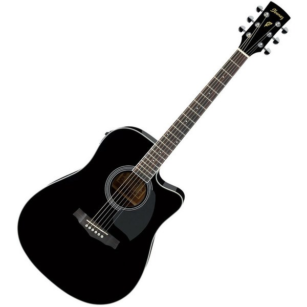 Ibanez Semi Acoustic Guitar PF15ECE-BK
