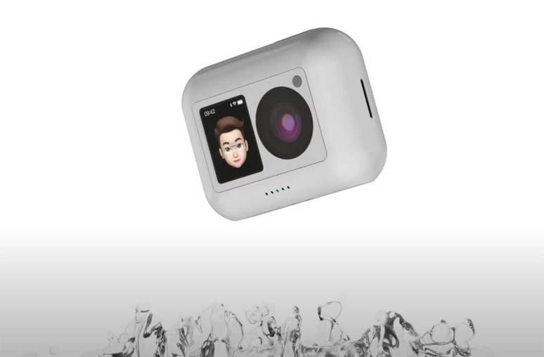 AirCam, un concept de caméra - Crédits Antonio De Rosa