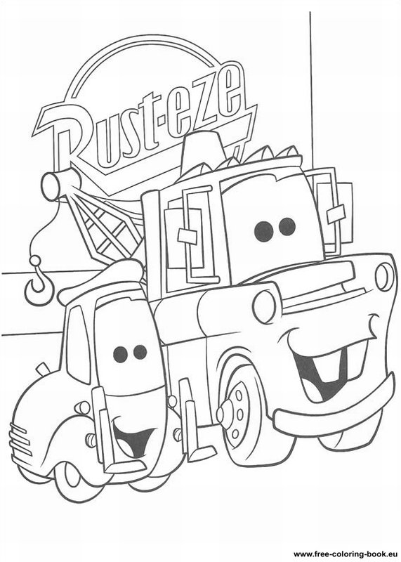 Coloring pages Cars Disney Pixar - Page 1 - Printable ... | free printable disney pixar cars coloring pages