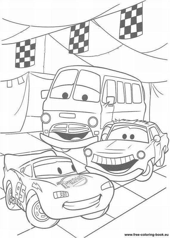 Coloring pages Cars Disney Pixar - Page 2 - Printable ... | free printable disney pixar cars coloring pages