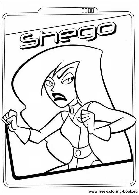 Coloring Pages Kim Possible Printable Coloring Pages Online
