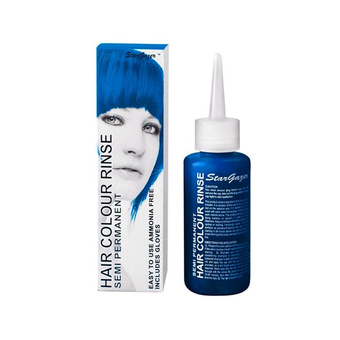 Semi Permanent Hair Dye Soft Blue - StarGazer   Product description